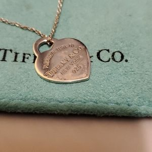 "Tiffany & Co. Necklace 16"""